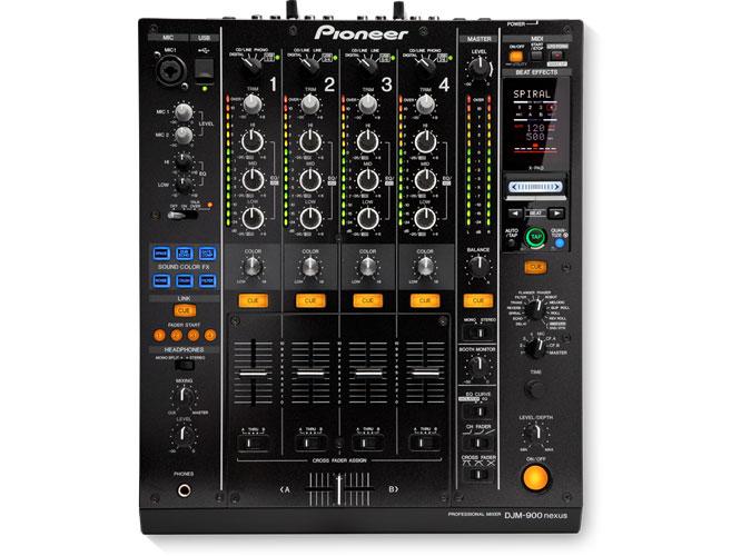 Pioneer Djm900nxs Dj Mixer Audio Visual Specialists