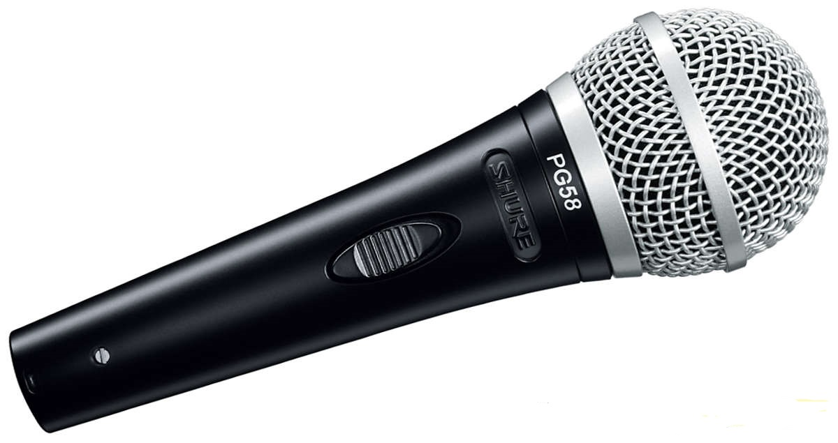 shure pg58 microphone audio visual specialists. Black Bedroom Furniture Sets. Home Design Ideas