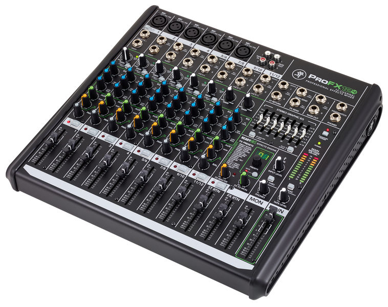 mackie profx12 v2 mixer audio visual specialists. Black Bedroom Furniture Sets. Home Design Ideas
