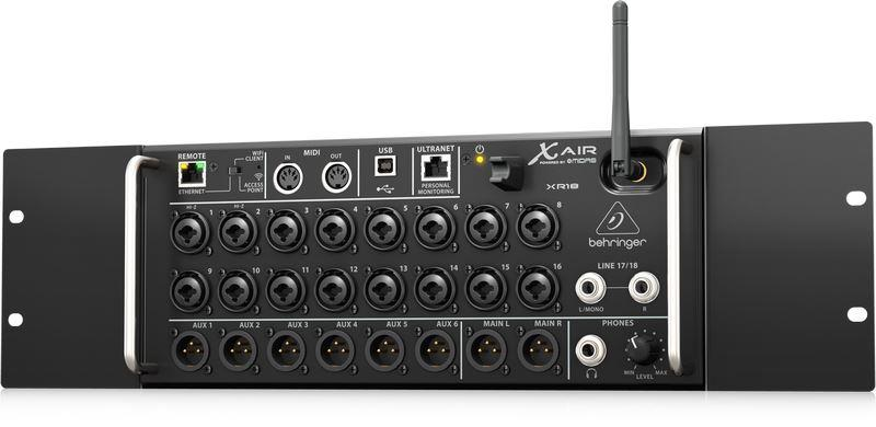 Behringer Xr18 With Rack Mount Audio Visual Specialists